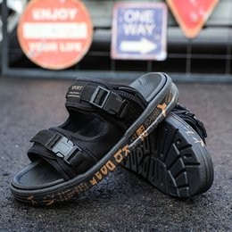 Buenas chanclas online-Chanclas de diseño más nuevas de calidad agradable Zapatillas Mastermind JAPAN x SUICOKE KISEEOK-044V Sandalias de Depa de Suicoke Sole Slides