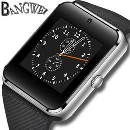2019 tarjetas sim de marca BANGWEI Marca Mujeres Reloj Inteligente Mens Fitness Sport reloj de Pulsera SIM Tarjeta TF Conectividad Bluetooth Teléfono Android Relogio rebajas tarjetas sim de marca