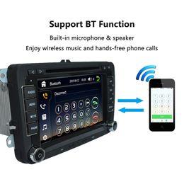 "Wholesale gps car navigation vw - Universal Car 7"" 1080P HD DVD Player GPS Navigation Bluetooth Car Radio 2 Din in Dash PC Stereo Head Unit for VW"
