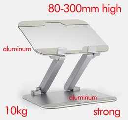 Wholesale Padded Laptop Desk - DL-LN18 height adjustable 30cm aluminum laptop desktop stand monitor mount pad desk support Led bracket