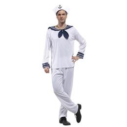 sailor halloween costumes men UK - Umorden Halloween Sailor Costume Men Adult Navy Uniform Man Cosplay  sc 1 st  DHgate.com & Shop Sailor Halloween Costumes Men UK | Sailor Halloween Costumes ...