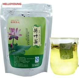 Wholesale fat weights - C-TS002 Chinese Herb Leaf Dried Loose Lotus Leaf Tea traditional slimming tea herbal tea decrease to lose weight burning fat