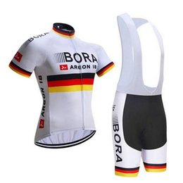 BORA team Cycling Short Sleeves jersey (bib) shorts sets Ropa Ciclismo  quick dry team pro mens summer bicycle Maillot Suit 101515F c9f289de4