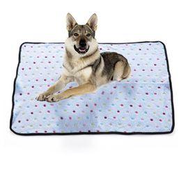 Wholesale Blue Dog Beds - Wholesale-Pet Dog Cat Blanket Large Puppy Fleece Soft Warm Bed Cover Cushion Mat Blanket ZDD2850