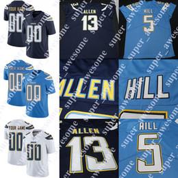 c61985fe1 CUSTOM Los Angeles Chargers Jersey Philip Rivers Melvin Gordon Keenan Allen  Derwin James Tyrell Williams Mike Williams Joey Bosa Addae cheap joey bosa  ...