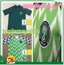 Wholesale Check S - 2018 Nigeria SOCCER JERSEYS HOME DEPARTMENT 18 SEPTEMBER 12 GREEN GOVERNMENT 18 19 CHECK RIGHTS JERSEY OQU FOOTBALL SHIRTS