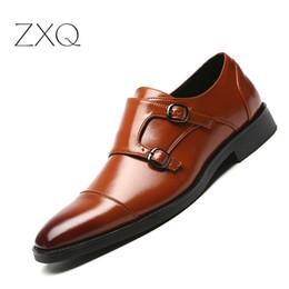340a260864b0 Plus Größe 48 Männer Formale Kleid Schuhe Spitz Vintage Gentlemen Zweifel  Buckle Monk Strap Schuhe Slip On Männer Oxford mönchriemen schuhe männer  Angebote