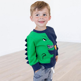 toddler products Australia - Toddler boys clothes Tyrannosaurus Rex sweatshirt kids t shirt baby clothing sweatshirts child christmas products children clothes costumes