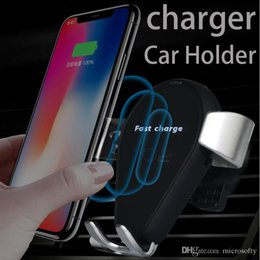 Wholesale Car Suits - Factory direct-to-car wireless fast charger intelligent automatic expense rack apple samsung android all-purpose suit