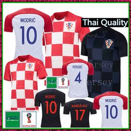 2018 copa futebol 2018 Copa do mundo de futebol MODRIC Jersey 18 19  MANDZUKIC camisas de 9c0e4d1b767bb