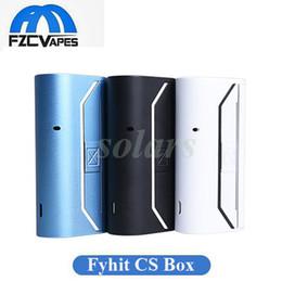 Wholesale Heating Controls - Authentic Ciggo Fyhit CS Box Vaporizer Bluetooth APP Control Tobacco Heating Device 2200mah with Detachable Ceramic Heatier 100% Original