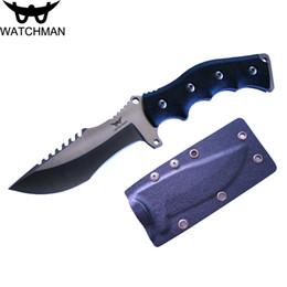 cuchillos hechos a medida Rebajas Cuchillos Hutting Cuchilla fija Cuchillo recto Cuchillos tácticos con Kydex Survival EDC Tool Collection Promoción de venta de fábrica para la venta MH113-A