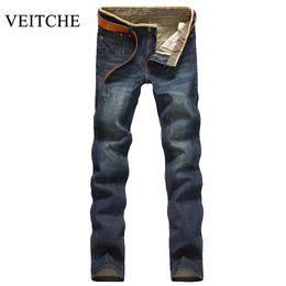 Jeans Radient 2019 Neue Frühling Sommer Herren Slim Fit Hosen Klassische Jeans Männlichen Denim Jeans Designer Hosen Beiläufige Dünne Gerade Elastizität
