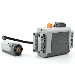 Jeux de construction en assemblage technologie MOC série mécanique pièces PF, accessoires électroniques électriques boîtier de batterie moteur moteur de fil ? partir de fabricateur