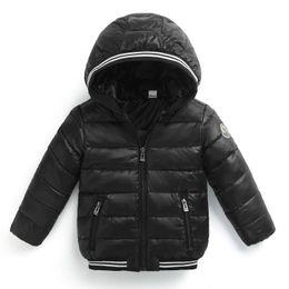 Wholesale oxford pads - Ultralight Autumn Winter Kids Boys girls Jacket Outerwear Warm Hooded white duck Down Jacket Children Cotton-Padded Jackets