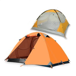 Wholesale Double Layer Tents - BSWolf 3-Person Waterproof Double-layer Detachable Tent for Outdoor Camping Hiking