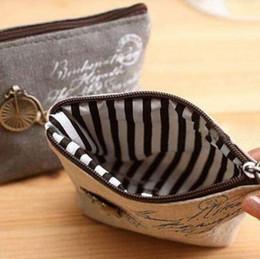 Wholesale Cheap Cute Bags Purses - Wholesale- New Mini Cute Women Coin Purses Cheap Casual Sackcloth Coin Bags for Women Fashion Women Bags