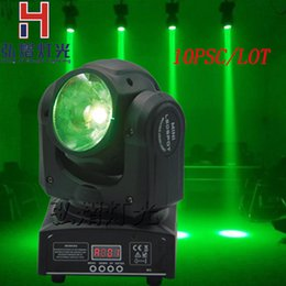 Wholesale Cheap Dj - Wholesale- 10PCS LOT Factory price 60w rgbw 4in1 beam moving head light 10 13CH cheap led dj lights Shary 60w beam 4in1 rgbw moving head
