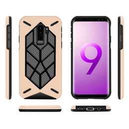 Wholesale iphone case slim armor - 2 in 1 Slim Hybrid Armor Back Case Cover For iPhone X 8 7 6 6S Plus Samsung S9 Plus New