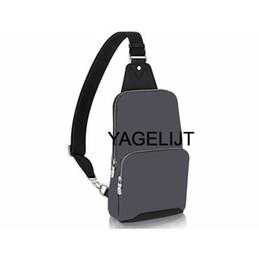 Wholesale Men Pouch Opening - 2018 new black plaid AV. SLING BAG D.GRAP. N41719 travel bag MENS cross body breast shoulder pouch N41612 N41473 41473 N41712 AVENUE N41720