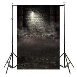 Pared de ladrillo prop online-3x5FT Ruinas Impresión de pared de ladrillo Fotografía telones de fondo Fotografía Estudio Accesorios de vinilo Fotografía de fondo de tela 90 x 150 cm