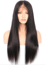 Argentina Moda caliente peluca sintética del pelo largo recto del frente del cordón peluca pelucas sintéticas hechas a mano para África mujeres americanas coreanas fibra resistente al calor cheap korean handmade lace Suministro