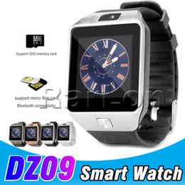 enregistrer des montres Promotion DZ09 Smartwatch téléphone caméra SIM carte pour téléphones Android IOS Intelligent montre téléphone mobile peut enregistrer l'état de veille Smart Watch