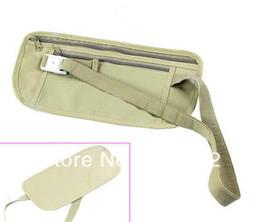 Wholesale Security Waist Pouch - 1pc Travel Pouch Hidden Compact Security Money Waist Belt Bag Pocket