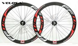 Wholesale Clincher Track Wheelset - FFWD F5T fixed gear carbon wheelset,700C track bike carbon wheel,50mm clincher tubular wheels