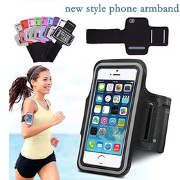 Tela di bicicletta online-Per Iphone Xs Max 8p 7 Sport Impermeabili In Esecuzione Nexus Armband Caso Workout Bomber Bicicletta Supporto Pounch Cell Cell Phone Bag Bag Band