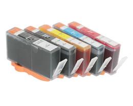 Wholesale Photosmart Cartridge - 5pcs For HP 178 ink cartridge for HP178 for HP Photosmart C6300 C5300 C5383 C6383 D5460 D5400 D5463 Pro B8553