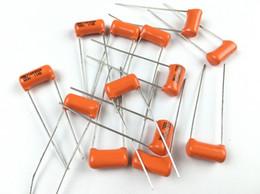 2019 гитара гайка долбежные США оранжевый SBE конденсатор электрическая гитара бас тон конденсатор 0.010 МКФ 104J 0.047 МКФ 473J / 0.022 МКФ 223 / 0.033 МКФ 333J / 0.068 МКФ 683 / 10 шт