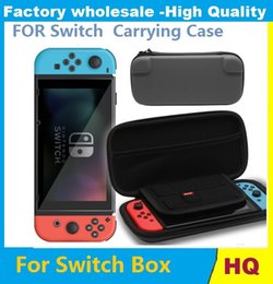 Wholesale Videos Host - For Nintendo Switch 3 Colors Video Game Hosting Bag Controller Carrying Case NS Vedeo Game Console Protective Pouch Bag