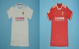 The best thailand quality of soccer jersey 18-19 la liga Real Zaragoza home away shirt fans version Zapater Marc