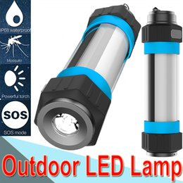 Canada Lampe de poche à LED étanche IP68 anti-insectes anti-insectes portable lampe de torche portable pour le camping en plein air de nuit éclairage de secours X-N95 Offre