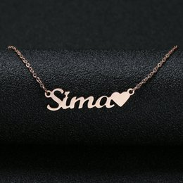 Personalized Custom Name Necklace For Women Customized Cursive Nameplate Handmade Choker Best Friend Birthday Gift Gifts Woman On