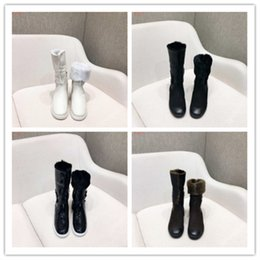 5ac372b38197c Brand shoes Production factory custom Import wool furs Warm and comfortable  Anti-skid EVA outsole women low heel Middle Boots