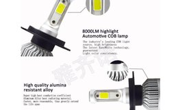 Wholesale Xenon H11 Bulb - 2Pair =( 4 only ) Car LED Bulbs H1 H3 H7 H3 H11 9005 9006 9012 880 881 Headlight Fog 8000LM 6500K Xenon Auto Headlamp 12v 36W Car Fog Lights