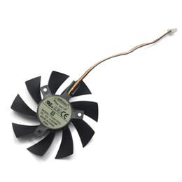 ventilador de 85 mm Desconto Novo 85mm T129215SU 4Pin Dois Substituição de Rolamento de Esferas Para MSI Gigabyte GTX 1060 RX 480 460 570 580 R9 290X Placa De Vídeo 0.5A Cooler Fan