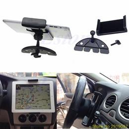 2019 schiffsschale Neue Auto Auto CD Mount Tablet PC Cradle Halter Ständer Für iPad 2 3 4 5 Air Galaxy Tab Drop Shipping Unterstützung günstig schiffsschale