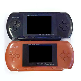 Wholesale pmp player - 2018 Free DHL Hot Game controller PVP3000 8 Bit 999999 in 1 Support FC PXP PMP Radio TV Out Music Mini Portable Game Player