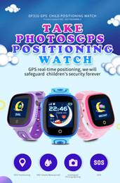 DF31G Reloj inteligente para niños IP67 Impermeable GPS Posicionamiento en tiempo real con cámara Pantalla táctil SOS Teléfono celular Monitor de niños con paquete desde fabricantes