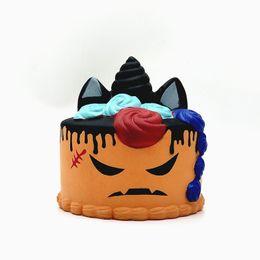 Squishy Set Brötchen Kuchen Spielzeug Puppe Squeeze Kawaii Gesichter Cartoon Stress PU Ball Halloweeen Geschenk Essen Duft Dekompression Super langsam Steigen von Fabrikanten