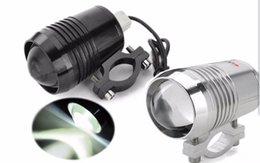 Wholesale Electric Bicycle Wholesale - 12V-80VDC Electric Bicycle Scooter Ultra bright 30W 1200LM Headlight Motorcycle Light