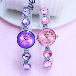 женские наручные часы Скидка 2018 Women New  Crystal Rhinestone Fashion Style Hand Catenary Bracelet Watches Ladies Girls Wristwatches Quartz Watches