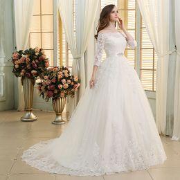 Rabatt Fotos Elegante Hochzeitskleider Armel 2019 Fotos Elegante