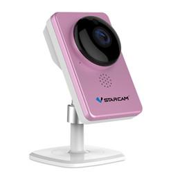 Cámara de seguridad vstarcam online-Cámara de seguridad interior WiFi inalámbrica VStarcam C60S 1080P Panorama de 180 grados / visión nocturna IR / detección de movimiento