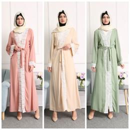 Wholesale Hijab S - islamic clothes Arab clothing latest designs women kimono burqa front open muslim wholesale hijab black new model abaya in dubai