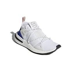 new product 48384 4ca35 chaussures femme cendres Promotion Originals Arkyn Primeknit PK Ash Perle  2018 Nouveau Hommes Chaussures De Course
