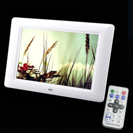 definition electronic Promo Codes - 7 Inch TFT Screen LED Backlight High-Definition Digital Photo Frame Electronic Album Picture Music Video Porta Retrato Digital